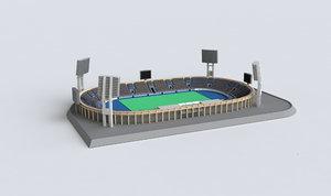 3D stadium mold print