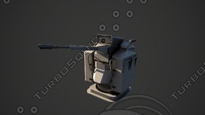 3D narwhal canon