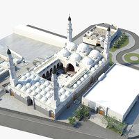 masjid quba 3D model