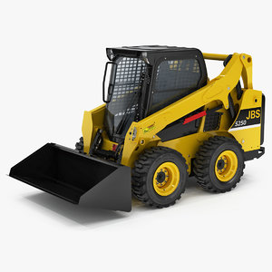 3D model skid steer loader generic