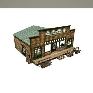 3D building wild west