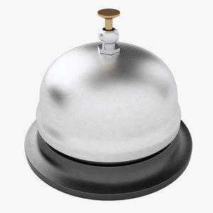 3D model service bell