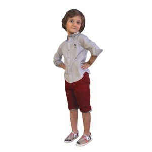 3D scanned kid