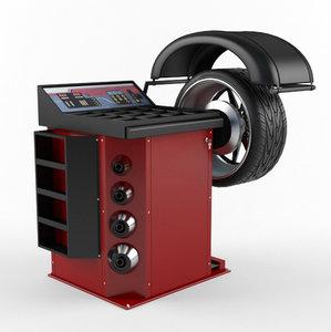 wheel balancer 3D model