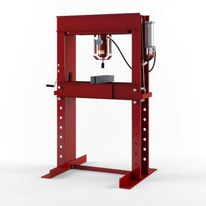 40 ton hydraulic shop 3D