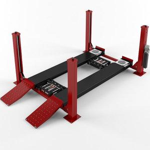 3D model post car lift