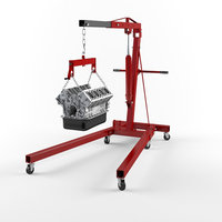 engine hoists 3D model