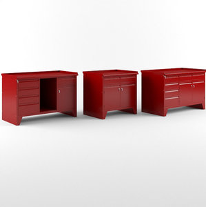 workbenches car service 3D model