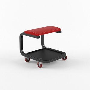 3D model work seat rolling
