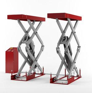 rise scissor lift 3D model