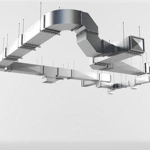 hd low-poly ventilation 2 3D