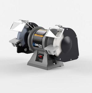 3D model bench grinder