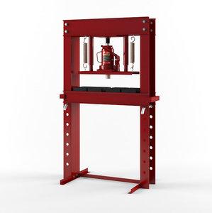 3D model 20 ton hydraulic shop