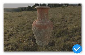 pitcher interior decoration 3D model