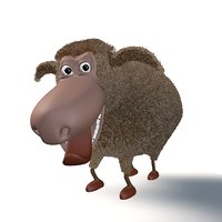 cartoon sheep model