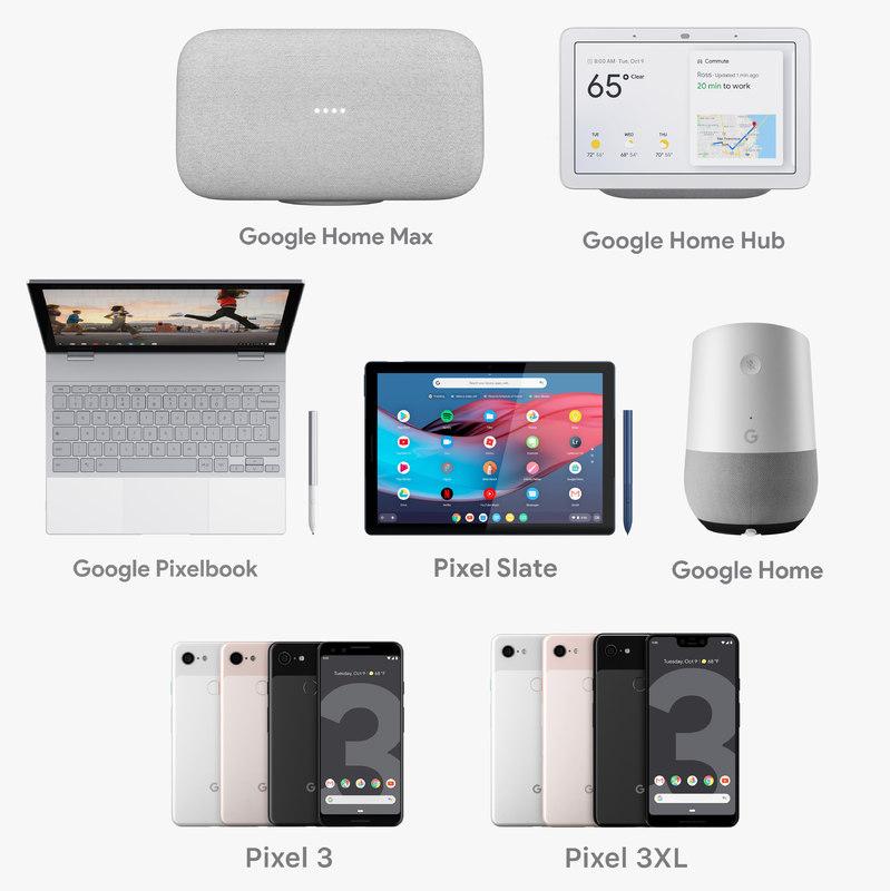 google electronics 3D model