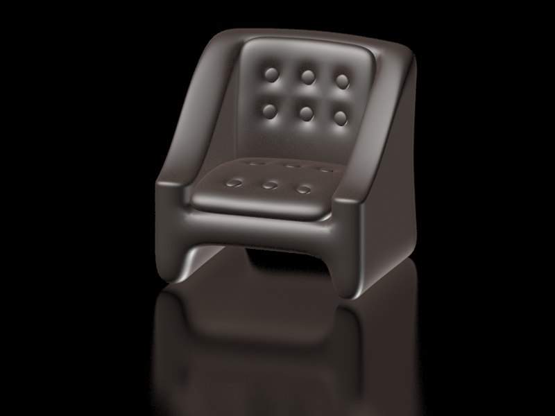 armchair home 3D