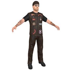 biker man 2 3D