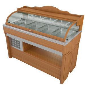 salad bar enofrigo mambo 3D