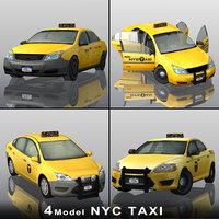 3D 4 new york taxi