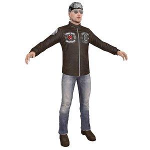 biker 2 model