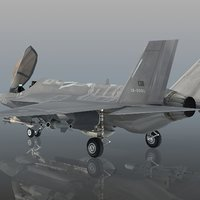 turkish air force f-35 3D model