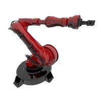 3D model automation robot industries