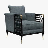 Kagney Lattice Design Chair