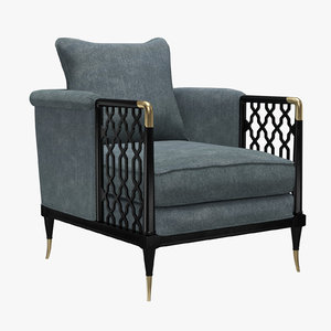 3D kagney lattice design chair
