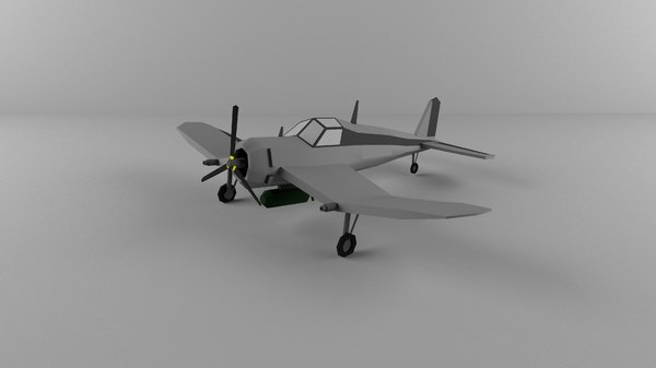 military aircraft 3D