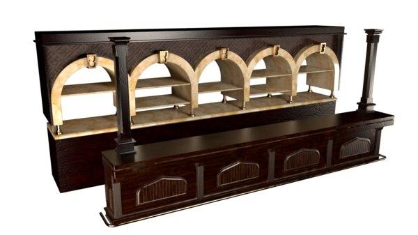 bar pub saloon model