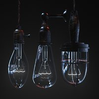 3D lamp redshift