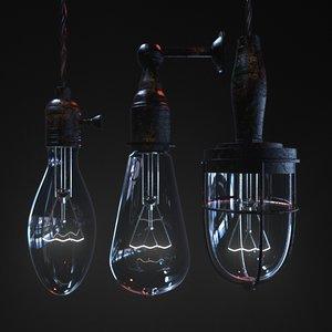 3D lamp redshift