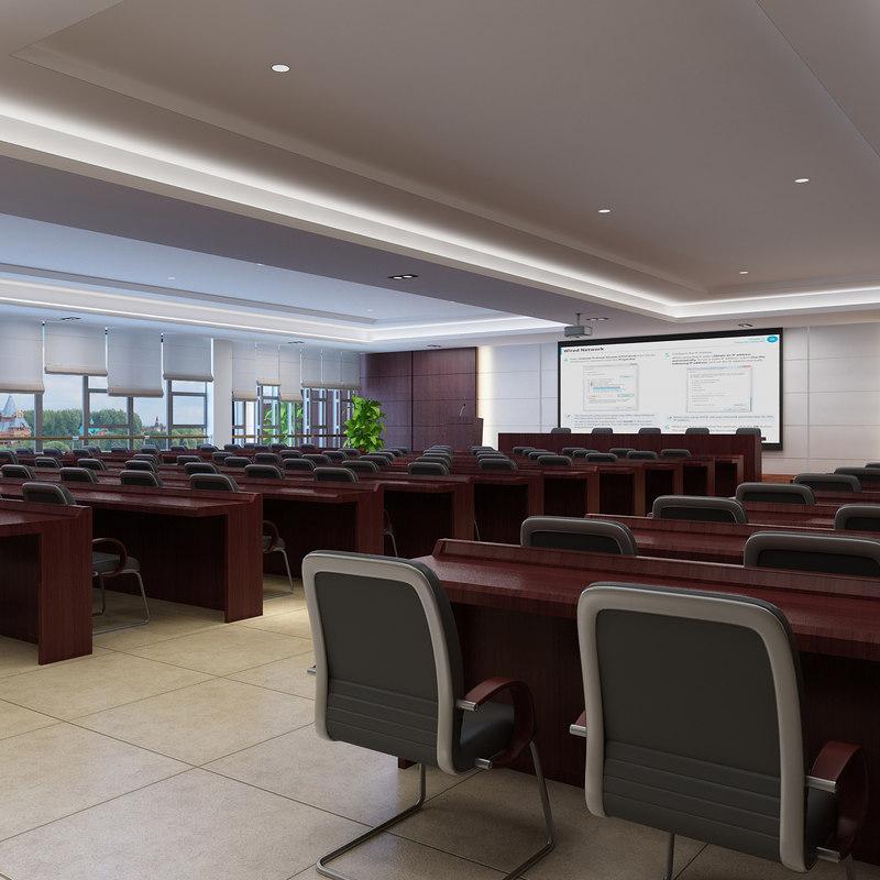 multimedia conference room 3D