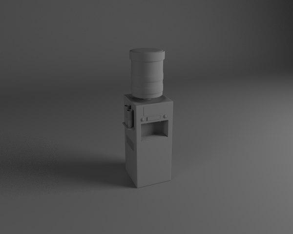 watercooler water 3D model