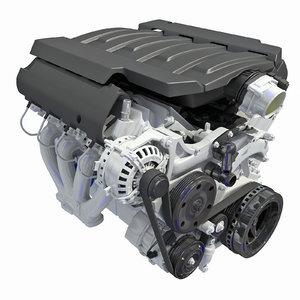 3D v8 engine version