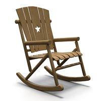 rocking chair seat model