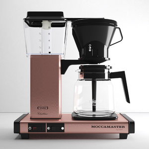 3D coffee moccamaster kb 741