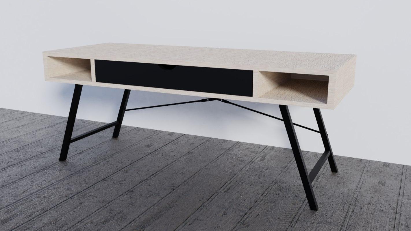 3D modern table drawer