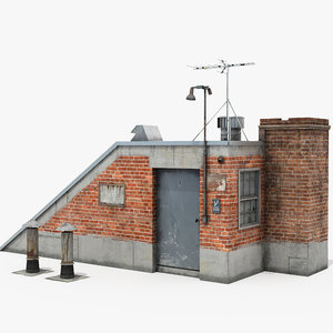 rooftop access room model