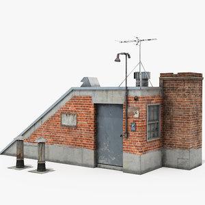 rooftop access room model