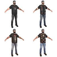 pack biker 3D model