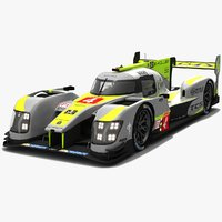 bykolles racing team lmp1 3D model