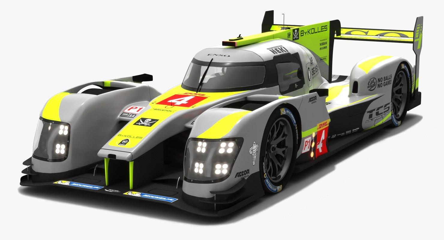 bykolles racing team lmp1 3D model