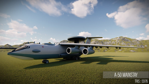 airplane mainstay 3D model