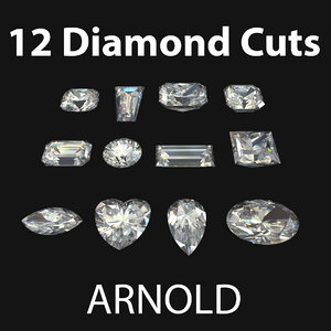 diamond cuts arnold 3D model
