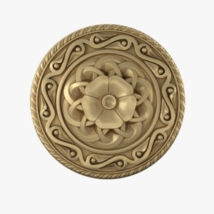 3D rosette ortodox style
