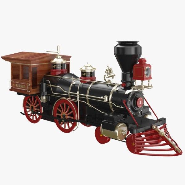 train modeled 3D
