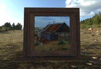 frame painting 3D model