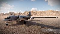 3D model airplane